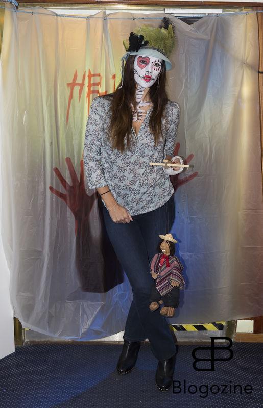 2016-11-04 Halloweenfest. Inbjudan Johan Carlen. På Bilden: Caisa Ahlroth COPYRIGHT STELLA PICTURES