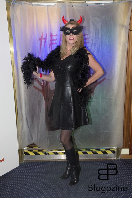 2016-11-04 Halloweenfest. Inbjudan Johan Carlen. På Bilden: Christina Nilsson COPYRIGHT STELLA PICTURES