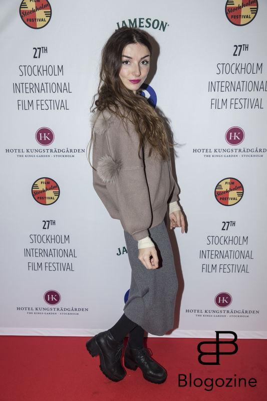 2016-11-09 Invigning Filmfestivalen 2016 på biograf Skandia. På Bilden: Sibel Redzep COPYRIGHT STELLA PICTURES