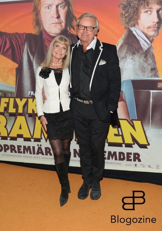 2016-11-08 Galapremiär Flykten till Framtiden på Rigoletto Pictured: Ann och Leif Schulman Copyright Sigge Klemetz / Stella Pictures