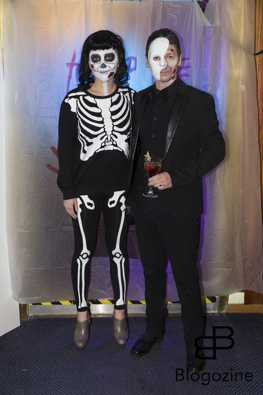 2016-11-04 Halloweenfest. Inbjudan Johan Carlen. På Bilden: Anna och Hans Shimoda COPYRIGHT STELLA PICTURES