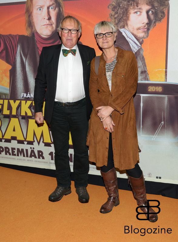 2016-11-08 Galapremiär Flykten till Framtiden på Rigoletto Pictured: Olle och Maria Abrahamsson  Copyright Sigge Klemetz / Stella Pictures