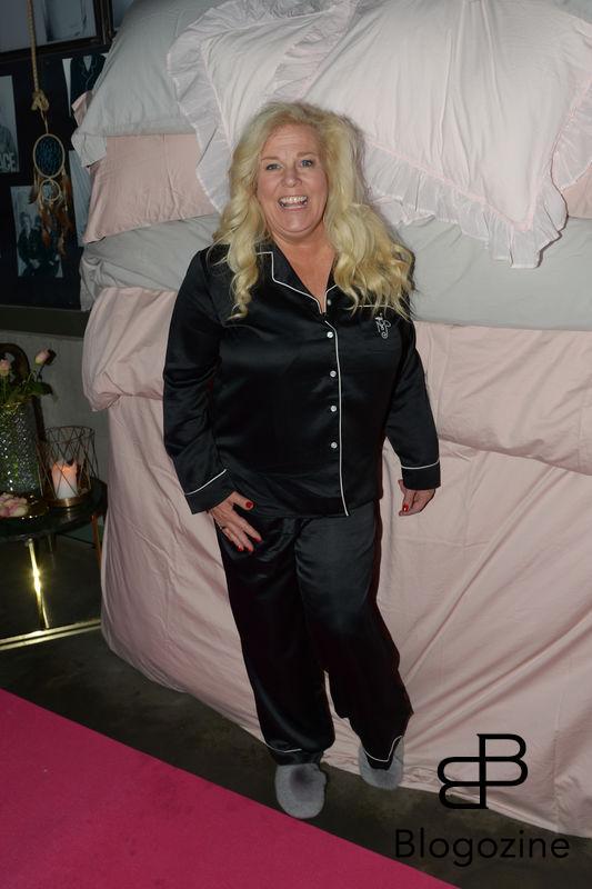 2016-11-08 Pyjamasparty med Mia Parnevik på Restaurang Mother Pictured: Mia Parnevik Copyright Sigge Klemetz / Stella Pictures
