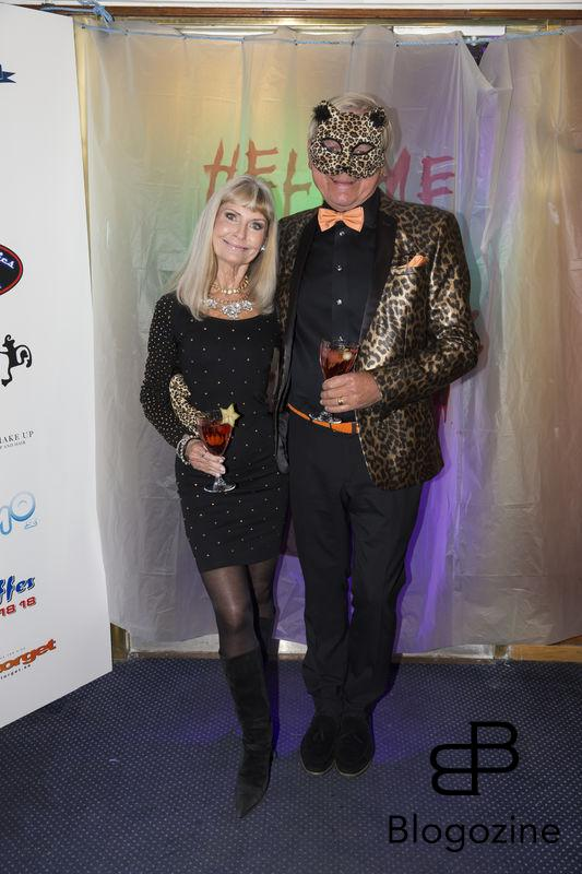 2016-11-04 Halloweenfest. Inbjudan Johan Carlen. På Bilden: Leif och Ann Schulman COPYRIGHT STELLA PICTURES