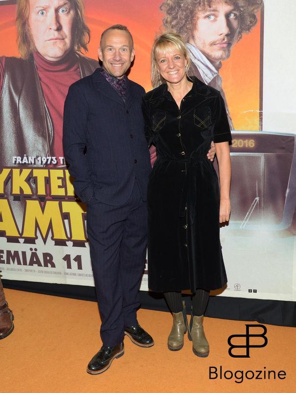 2016-11-08 Galapremiär Flykten till Framtiden på Rigoletto Pictured: Bengt Braskered och Petra Nilsson Copyright Sigge Klemetz / Stella Pictures