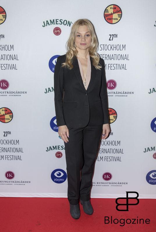 2016-11-09 Invigning Filmfestivalen 2016 på biograf Skandia. På Bilden: Lisa Verlinder COPYRIGHT STELLA PICTURES