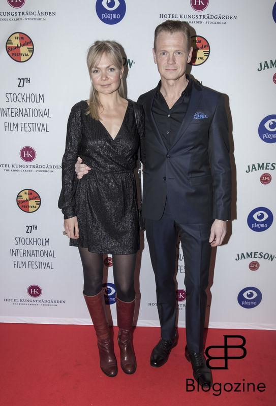 2016-11-09 Invigning Filmfestivalen 2016 på biograf Skandia. På Bilden: Marie Robertsson och Mårten Klingberg COPYRIGHT STELLA PICTURES
