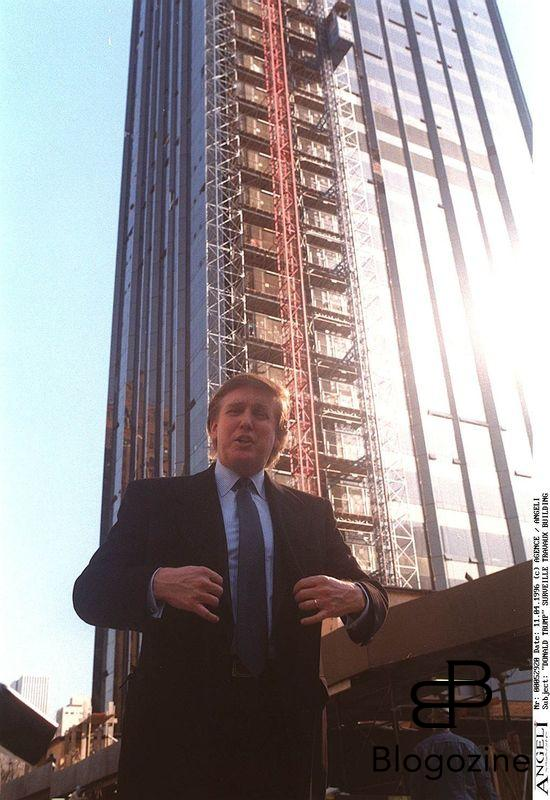 """DONALD TRUMP"" SURVEILLE TRAVAUX BUILDING CONSTRUCTION ""ONE CENTRAL PARK WEST"" NEW-YORK IMMEUBLE ""PLAN AMERICAIN"""