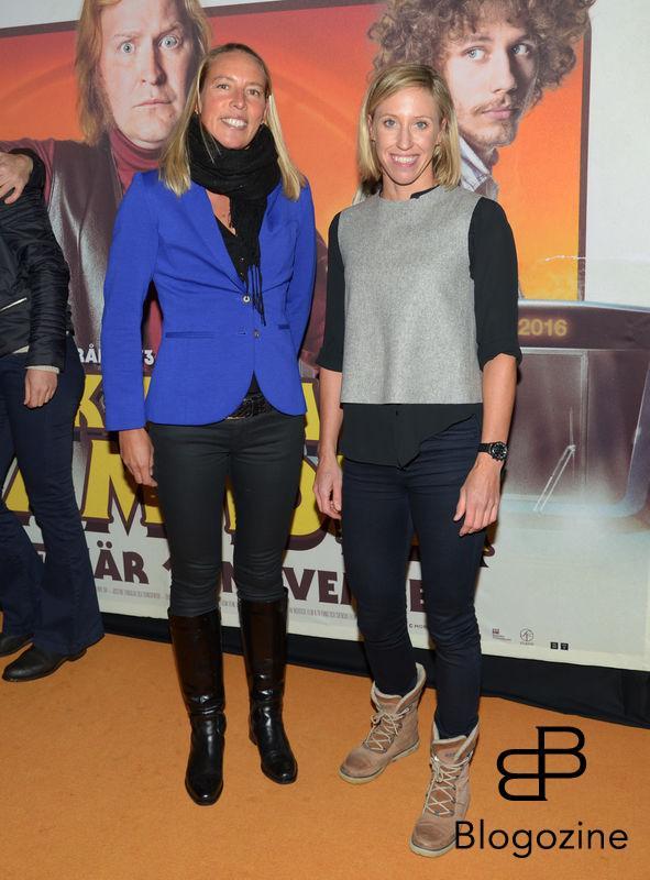 2016-11-08 Galapremiär Flykten till Framtiden på Rigoletto Pictured: Angela Fox och Lisa Norden Copyright Sigge Klemetz / Stella Pictures