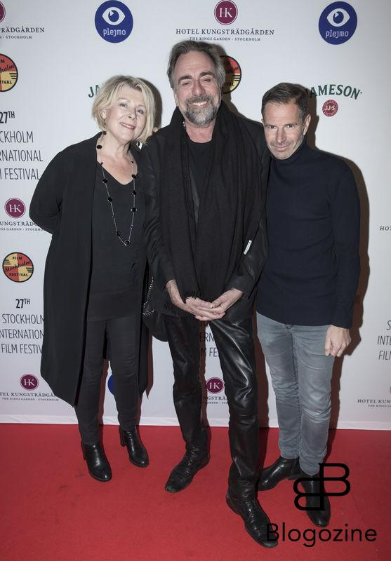 2016-11-09 Invigning Filmfestivalen 2016 på biograf Skandia. På Bilden: Rickard Wolf och Benjamin Wolf COPYRIGHT STELLA PICTURES