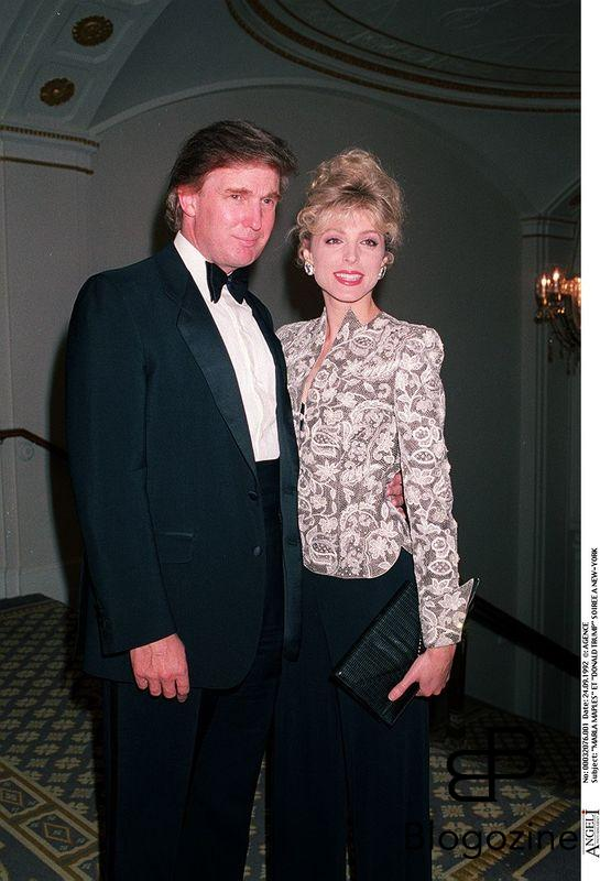 """MARLA MAPLES"" ET ""DONALD TRUMP"" SOIREE A NEW-YORK ""PLAN AMERICAIN"""