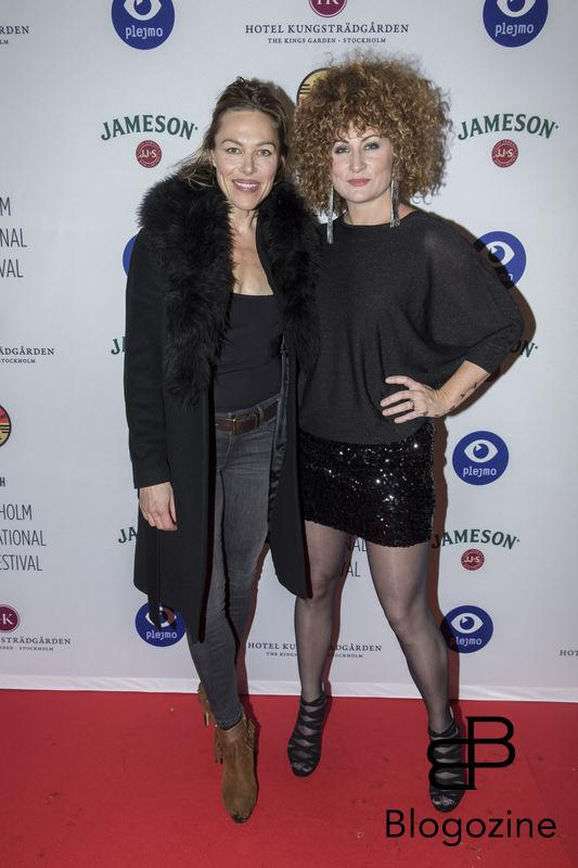 2016-11-09 Invigning Filmfestivalen 2016 på biograf Skandia. På Bilden: Anna Parrow och Anna Mourou COPYRIGHT STELLA PICTURES