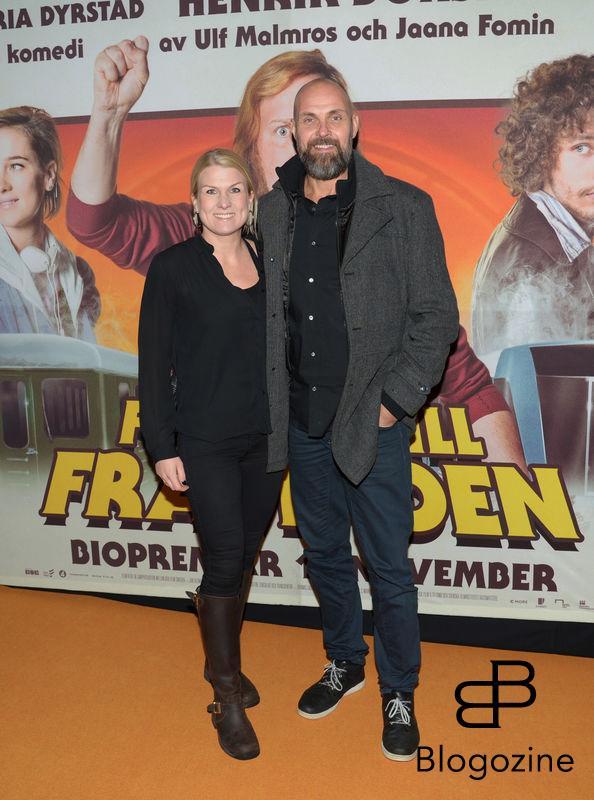2016-11-08 Galapremiär Flykten till Framtiden på Rigoletto Pictured: Elin och Björn Becksmo Copyright Sigge Klemetz / Stella Pictures