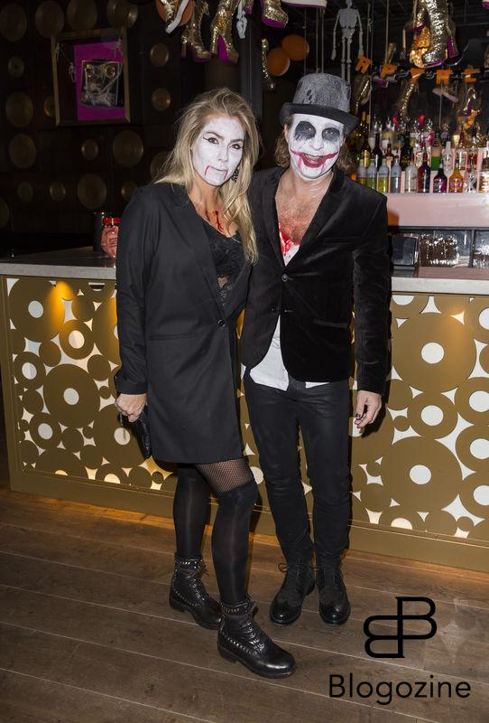 2016-11-02 Halloweenfest på Golden Hits. På Bilden: Patrik Isaksson och Marlene Hedblom COPYRIGHT STELLA PICTURES