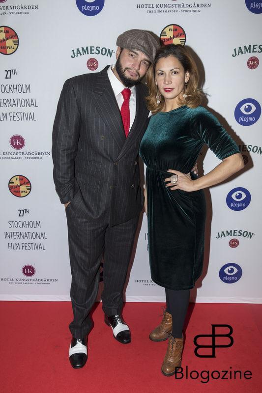 2016-11-09 Invigning Filmfestivalen 2016 på biograf Skandia. På Bilden: Malin Arvidsson COPYRIGHT STELLA PICTURES