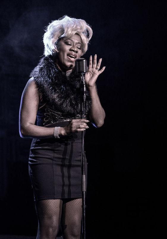 2016-11-04  Vip-visning The Music of Motown Feat Afro- Dite på Dieselverkstaden Pictured: Gladys del Pilar Copyright Sigge Klemetz / Stella Pictures