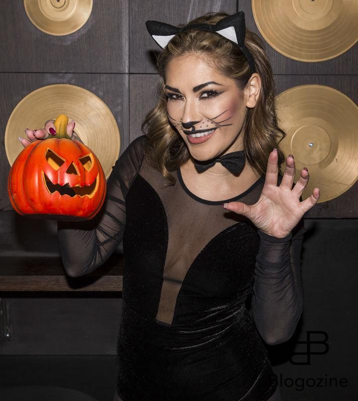 2016-11-02 Halloweenfest på Golden Hits. På Bilden: Daphne Leon COPYRIGHT STELLA PICTURES