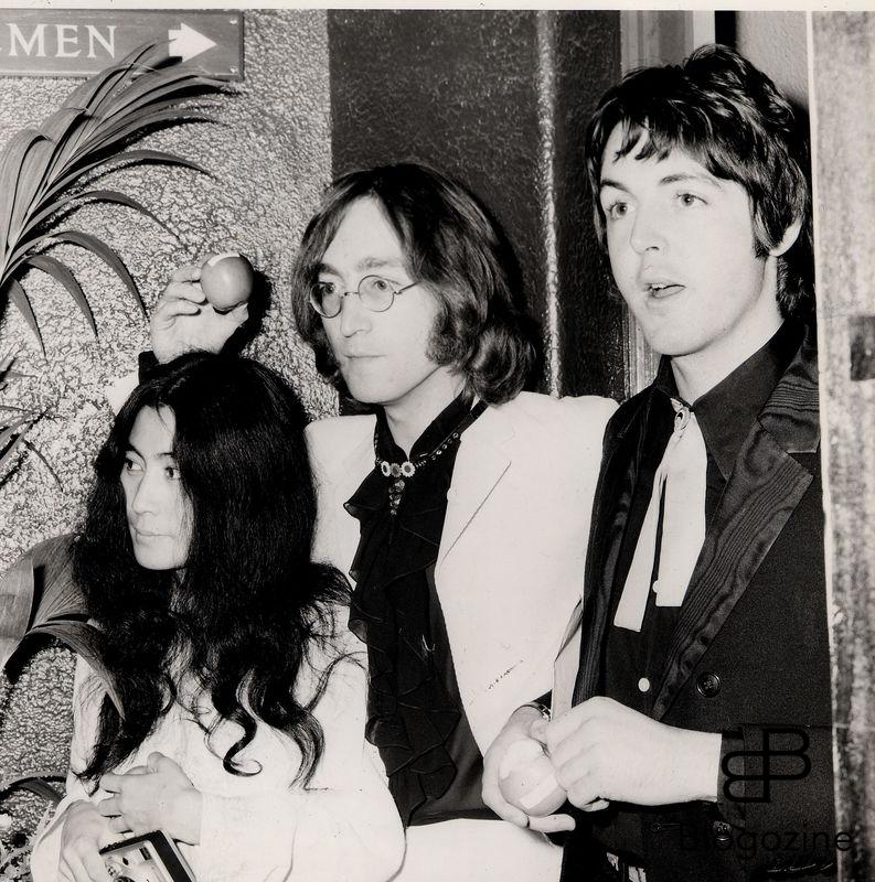 Yoko Ono , John Lennon and Paul McCartney in London in 1967 beatles 9th November 1966 - John Lennon and Yoko Ono meet for the first time at her exhibition at the Indica Gallery in London. Lennon remembered the date of their meeting as the 9th but many Beatles historians contend that it actually happened on the 7th, the day before the exhibition opened.
