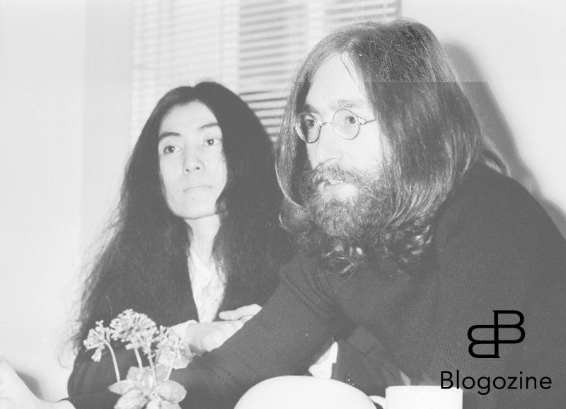 "Beatle John Lennon and his wife Japanese Yoko Ono in an interview with United Press International reveal that they are to stage their second ""bed in for Peace"". At Apple's headquarters in Saville Row London , still wearing small round rimmed glasses, long hair and beard said that this time they would hold a seven day marathon 23 May 1969 Ref: B196_095082_2874 Date: Compulsory Credit: STARSTOCK/Photoshot 9th November 1966 - John Lennon and Yoko Ono meet for the first time at her exhibition at the Indica Gallery in London. Lennon remembered the date of their meeting as the 9th but many Beatles historians contend that it actually happened on the 7th, the day before the exhibition opened."