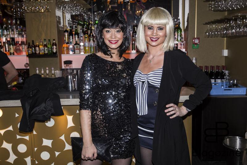 2016-11-02 Halloweenfest på Golden Hits. På Bilden: Tess och Veronica Ulander COPYRIGHT STELLA PICTURES