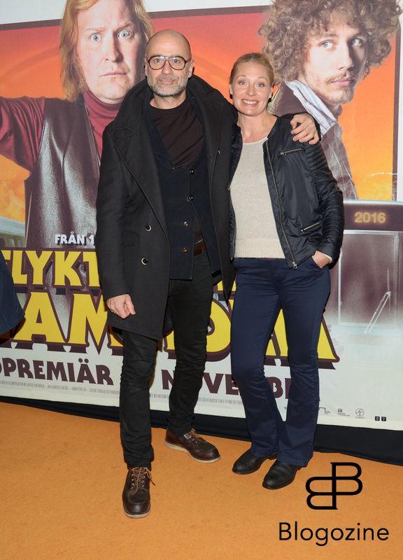 2016-11-08 Galapremiär Flykten till Framtiden på Rigoletto Pictured: Per och Johanna Graffman Copyright Sigge Klemetz / Stella Pictures