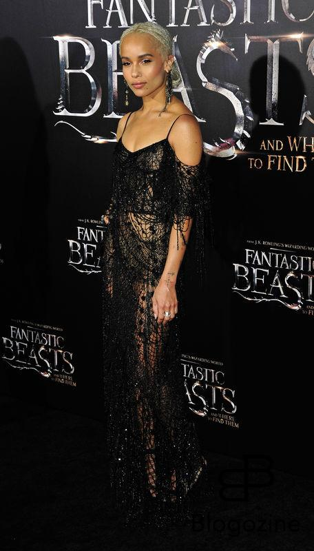 "52228364 Celebrities attend the premiere of ""Fantastic Beasts' in New York City, New York on November 10, 2016. Celebrities attend the premiere of ""Fantastic Beasts' in New York City, New York on November 10, 2016. Pictured: Zoe Kravitz FameFlynet, Inc - Beverly Hills, CA, USA - +1 (310) 505-9876"