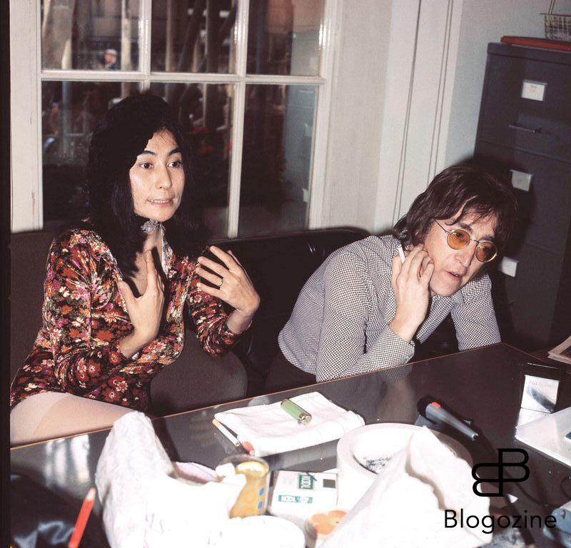 Yoko Ono & John Lennon ( 1971 ) Call and Agree Fees Credit all uses 9th November 1966 - John Lennon and Yoko Ono meet for the first time at her exhibition at the Indica Gallery in London. Lennon remembered the date of their meeting as the 9th but many Beatles historians contend that it actually happened on the 7th, the day before the exhibition opened.