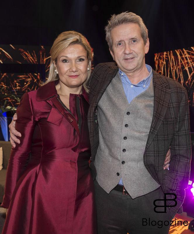 2016-11-16 Svt fyller 60 år. På Bilden: Cissi Elwin och Martin Timell COPYRIGHT STELLA PICTURES