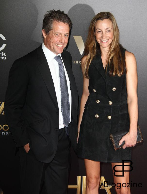 52224877 The 20th Annual Hollywood Film Awards held at The Beverly Hilton Hotel in Beverly Hills, California on 11/6/16.  The 20th Annual Hollywood Film Awards held at The Beverly Hilton Hotel in Beverly Hills, California on 11/6/16. Hugh Grant, Anna Elisabet Eberstein FameFlynet, Inc - Beverly Hills, CA, USA - +1 (310) 505-9876