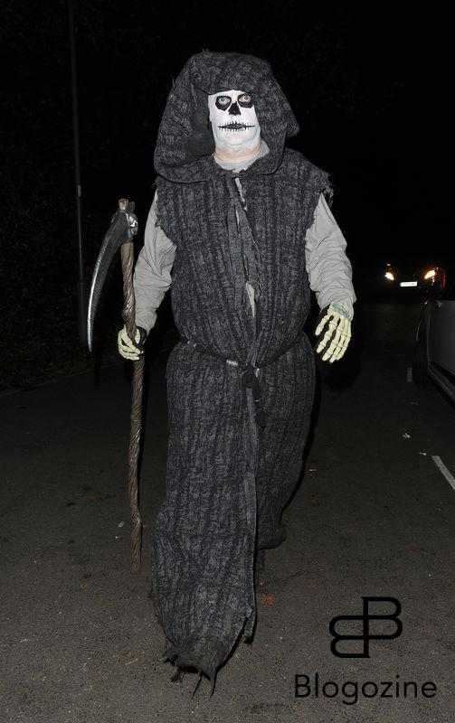 31 October 2016. Celebrities attend the annual Halloween party held at the home of Jonathan Ross. Pictured, Dara O'Briain Credit: Will/CK/GoffPhotos.com Ref: KGC-172/305