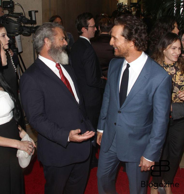 52224926 The 20th Annual Hollywood Film Awards held at The Beverly Hilton Hotel in Beverly Hills, California on 11/6/16.  The 20th Annual Hollywood Film Awards held at The Beverly Hilton Hotel in Beverly Hills, California on 11/6/16. Matthew McConaughey, Mel Gibson FameFlynet, Inc - Beverly Hills, CA, USA - +1 (310) 505-9876