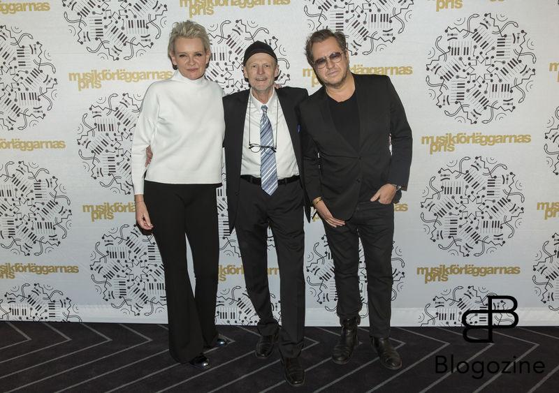 2016-11-11 Musikförläggarnas pris 2016 på Berns. På Bilden: Eva Dahlgren, Kenneth Gärdestad och Mauro Scocco COPYRIGHT STELLA PICTURES