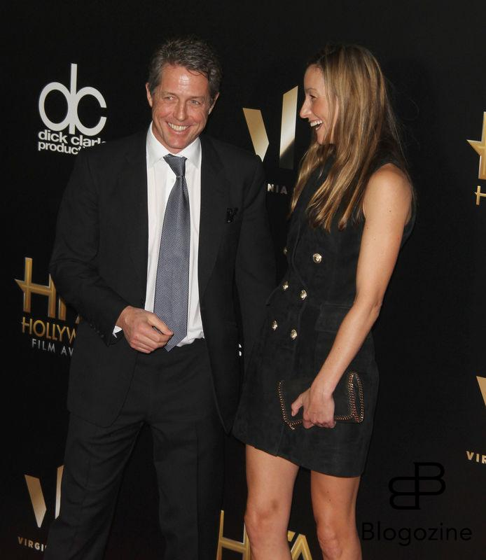 52224868 The 20th Annual Hollywood Film Awards held at The Beverly Hilton Hotel in Beverly Hills, California on 11/6/16.  The 20th Annual Hollywood Film Awards held at The Beverly Hilton Hotel in Beverly Hills, California on 11/6/16. Hugh Grant, Anna Elisabet Eberstein FameFlynet, Inc - Beverly Hills, CA, USA - +1 (310) 505-9876
