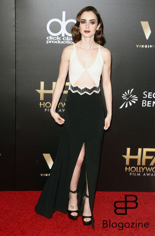 52224880 The 20th Annual Hollywood Film Awards held at The Beverly Hilton Hotel in Beverly Hills, California on 11/6/16.  The 20th Annual Hollywood Film Awards held at The Beverly Hilton Hotel in Beverly Hills, California on 11/6/16. Lily Collins FameFlynet, Inc - Beverly Hills, CA, USA - +1 (310) 505-9876