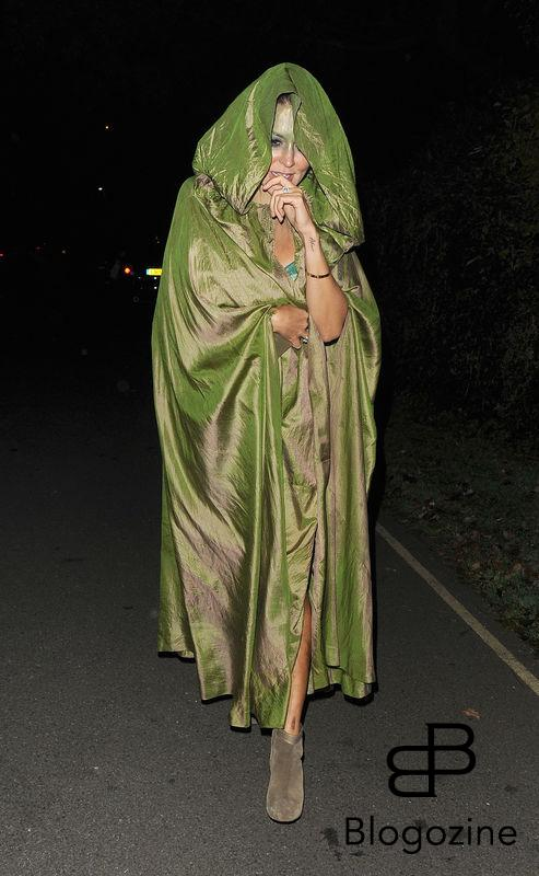 31 October 2016. Celebrities attend the annual Halloween party held at the home of Jonathan Ross. Pictured, Danielle Bux Credit: Will/CK/GoffPhotos.com Ref: KGC-172/305
