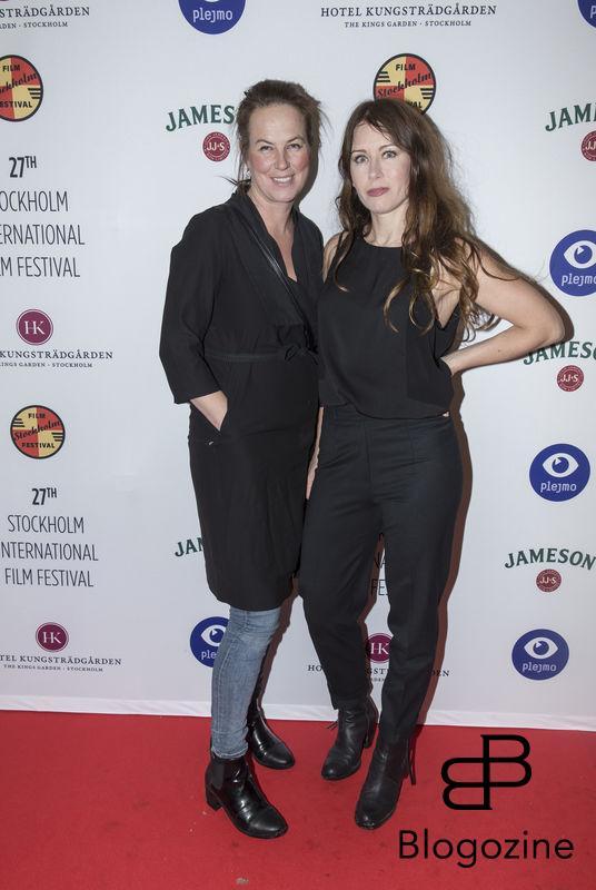 2016-11-09 Invigning Filmfestivalen 2016 på biograf Skandia. På Bilden: Ida Kriisa och Anna Odell COPYRIGHT STELLA PICTURES