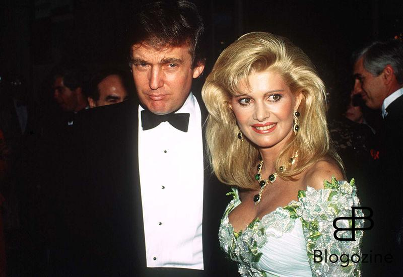 """DONALD TRUMP"" ""IVANA TRUMP"" NEW YORK ""PLAN AMERICAIN"""