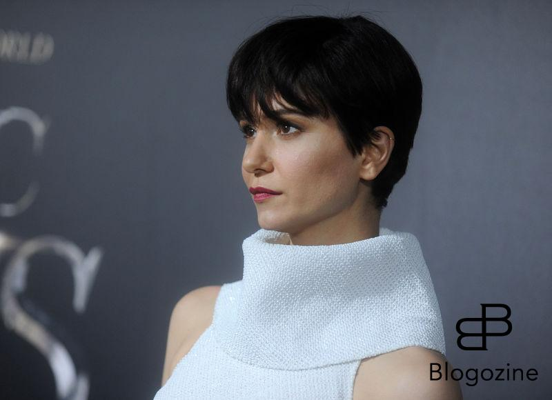 Actress Katherine Waterston attending the Fantastic Beasts And Where To Find Them world premiere at Alice Tully Hall, Lincoln Center in New York City, NY, USA, on November 10, 2016. Photo by Dennis Van Tine/ABACAPRESS.COM