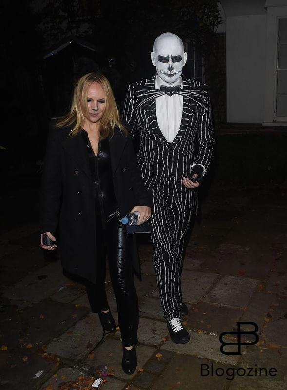 1 November 2016. Celebs Arriving at Jonathan Ross Halloween Party in London. Pictured, Guests Credit: GoffPhotos.com Ref: KGC-172/305