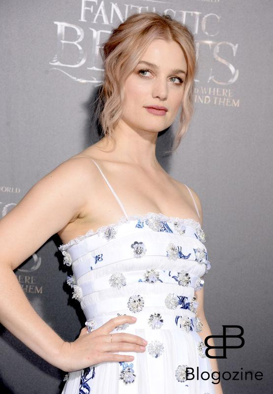 Actress Alison Sudol attending the Fantastic Beasts And Where To Find Them world premiere at Alice Tully Hall, Lincoln Center in New York City, NY, USA, on November 10, 2016. Photo by Dennis Van Tine/ABACAPRESS.COM
