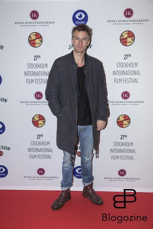2016-11-09 Invigning Filmfestivalen 2016 på biograf Skandia. På Bilden: Filip Berg COPYRIGHT STELLA PICTURES