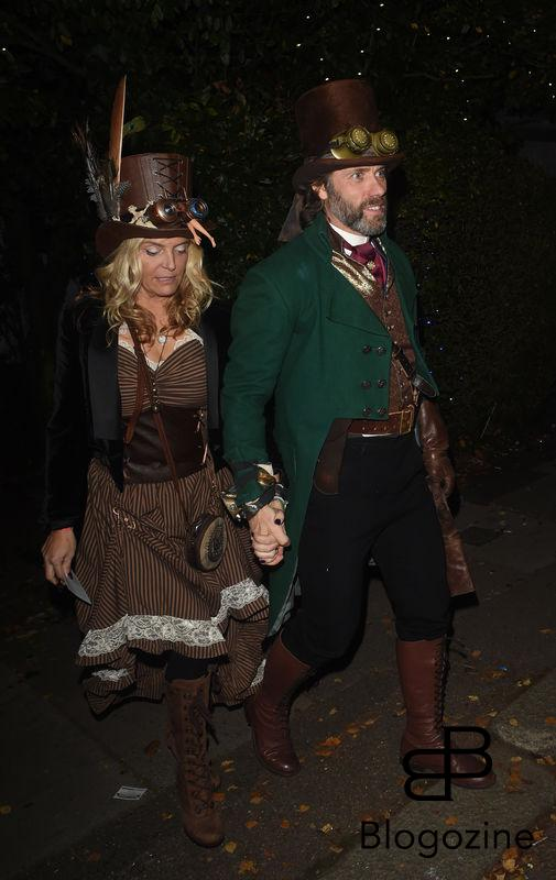 John Bishop is seen attending Jonathan Ross' Halloween Party 1 November 2016. Please byline: Vantagenews.com