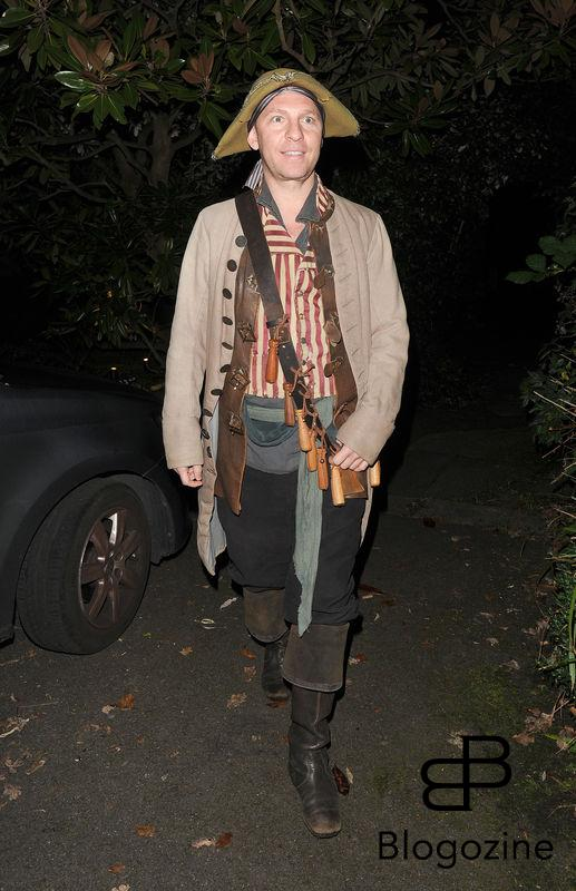 31 October 2016. Celebrities attend the annual Halloween party held at the home of Jonathan Ross. Pictured, Guest Credit: Will/CK/GoffPhotos.com Ref: KGC-172/305