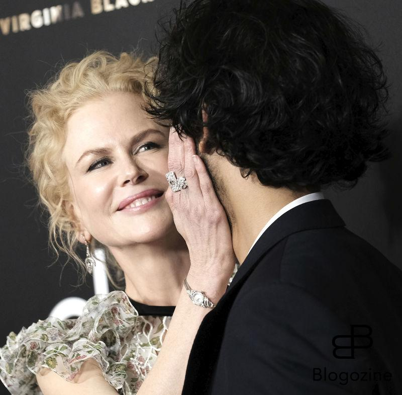 52224708 Celebrities at the 20th Annual Hollywood Film Awards held at the Beverly Hilton Hotel in Beverly Hills, California on November 6, 2016.  Celebrities at the 20th Annual Hollywood Film Awards held at the Beverly Hilton Hotel in Beverly Hills, California on November 6, 2016.  Pictured: Nicole Kidman, Dev Patel FameFlynet, Inc - Beverly Hills, CA, USA - +1 (310) 505-9876 RESTRICTIONS APPLY: NO FRANCE