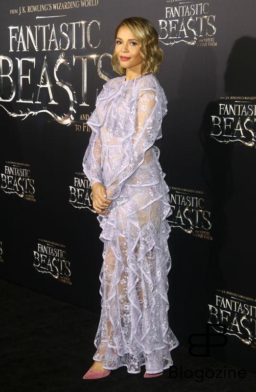 "52228400 Celebrities attend the premiere of ""Fantastic Beasts' in New York City, New York on November 10, 2016. FameFlynet, Inc - Beverly Hills, CA, USA - +1 (310) 505-9876"