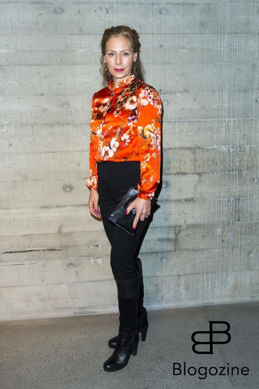 2016-11-03 Lars Wallins jubileumsutställningen Fashion Stories på Artipelag På Bilden: Eva Röse COPYRIGHT Jari Kantola/STELLA PICTURES