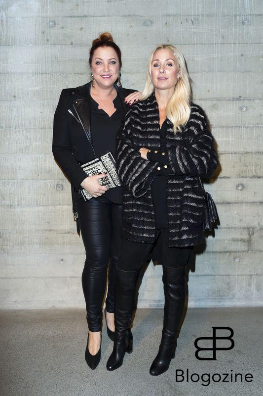 2016-11-03 Lars Wallins jubileumsutställningen Fashion Stories på Artipelag På Bilden: Shirley Clamp, Jenny Velvet Petersson COPYRIGHT Jari Kantola/STELLA PICTURES