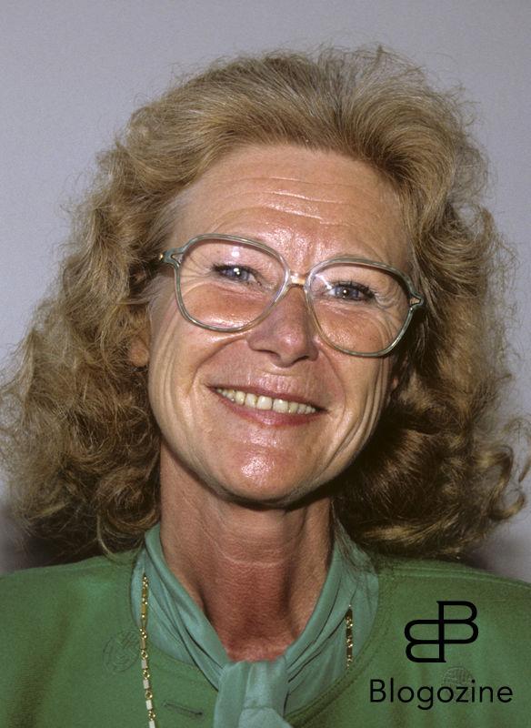 GUN HELLSVIK moderat politiker 1992 Dia 16967