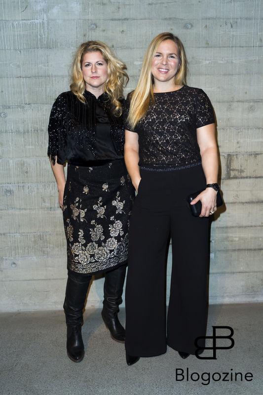 2016-11-03 Lars Wallins jubileumsutställningen Fashion Stories på Artipelag På Bilden: Anja Pärson, Filippa Rådin COPYRIGHT Jari Kantola/STELLA PICTURES