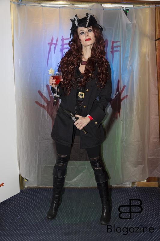2016-11-04 Halloweenfest. Inbjudan Johan Carlen. På Bilden: Sofia Eng COPYRIGHT STELLA PICTURES
